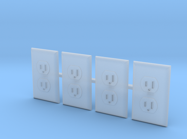 Outlet Faces Only, 1/12 Scale