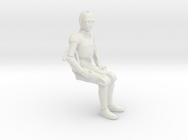 Extra Figure for Revell X-34 Landspeeder in White Natural Versatile Plastic