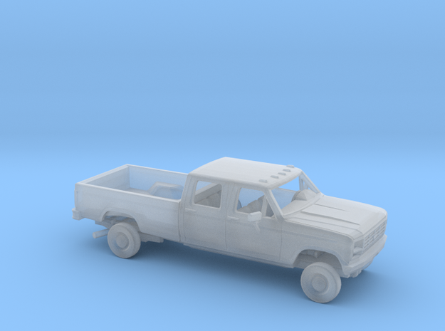 1/160 1980-86 Ford F-Series Crew Cab Reg Bed Kit in Smooth Fine Detail Plastic
