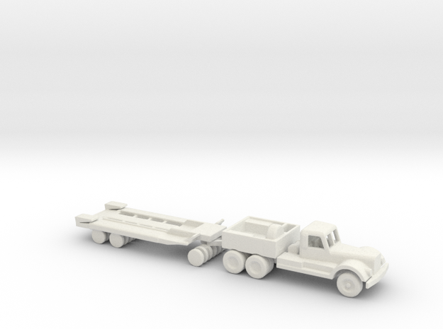 1/200 Scale M19 And M20 Tank Trasport in White Natural Versatile Plastic