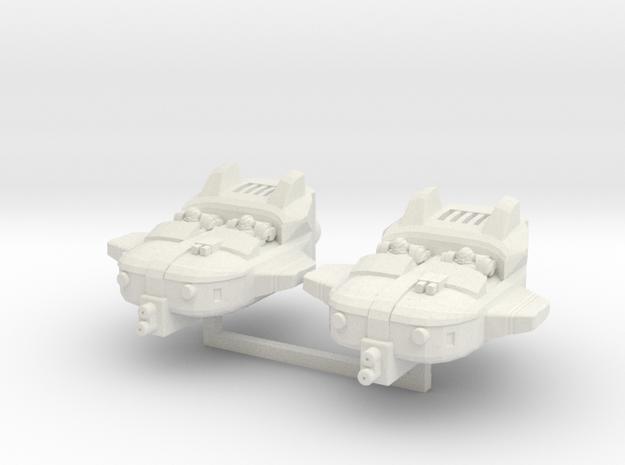 Sky Skimmer duo in White Natural Versatile Plastic