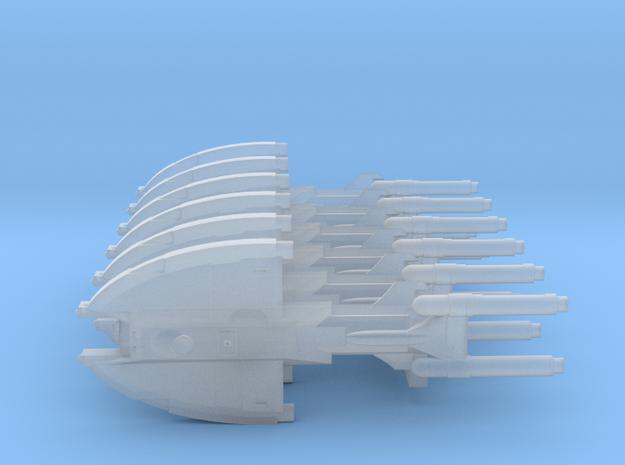 Unionist Corvette (x6) in Smooth Fine Detail Plastic