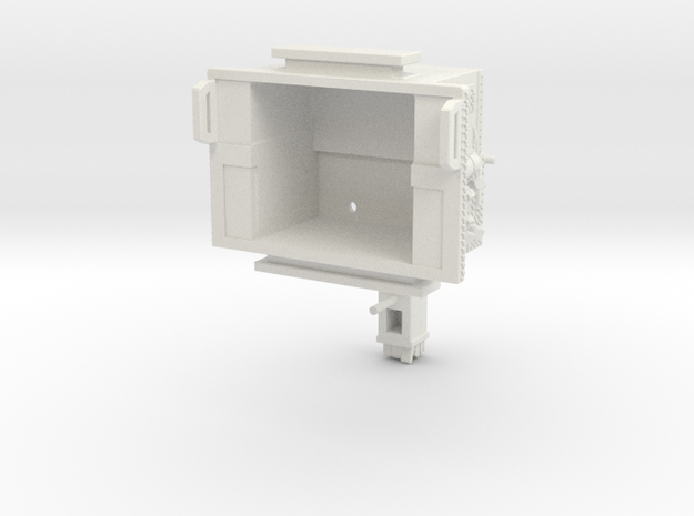 1/87 Aerialscope pump and crosslay section in White Natural Versatile Plastic