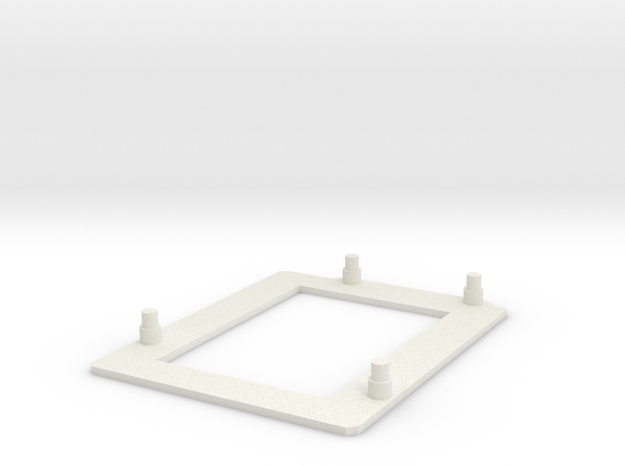 Case Arduino UNO in White Natural Versatile Plastic