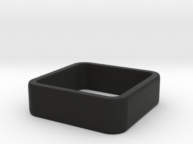 quadrato size 5.5 in Black Natural Versatile Plastic