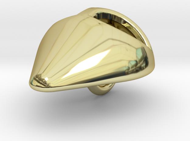 ALIEN PENDANT in 18K Yellow Gold: Small