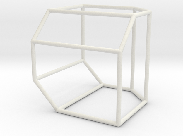 Associahedron K_5 in White Natural Versatile Plastic