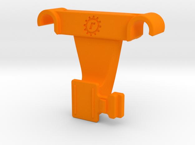 Bontrager Flare Saddle Rail Mount in Orange Processed Versatile Plastic