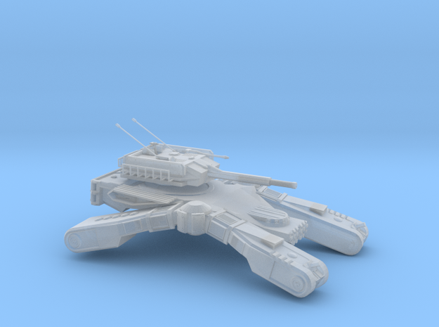Galloping Welte Tank in Smooth Fine Detail Plastic