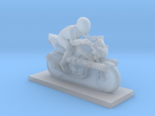 Biker - V6 in Smooth Fine Detail Plastic