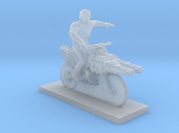 Biker - V5 in Smooth Fine Detail Plastic