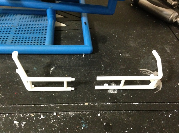 FA30004 Desert Patrol Vehicle Side Racks 3d printed Each side rack comes in 2 parts
