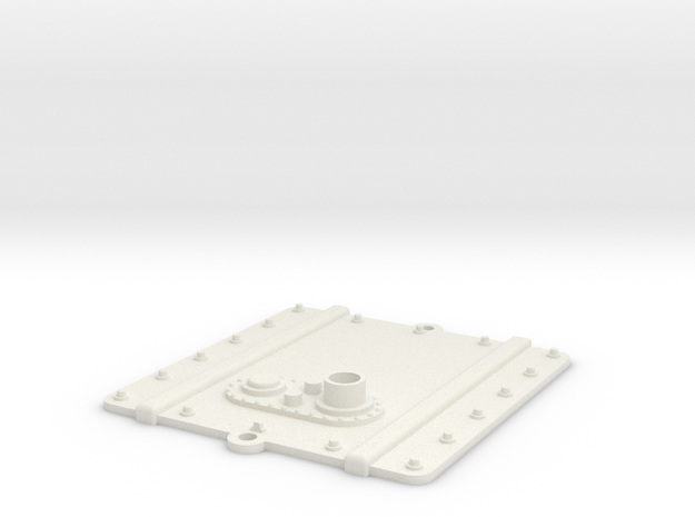 Vanquish Ripper - RX Cover in White Natural Versatile Plastic