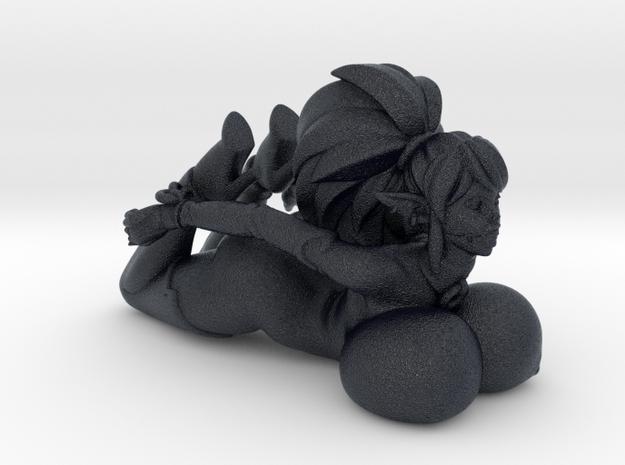 Syx Bondage - ballgag 40 mm Mini in Black Professional Plastic