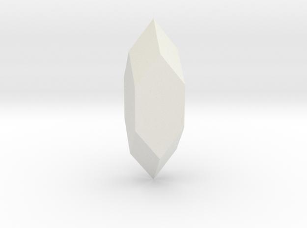 Apophyllite_04 in White Natural Versatile Plastic