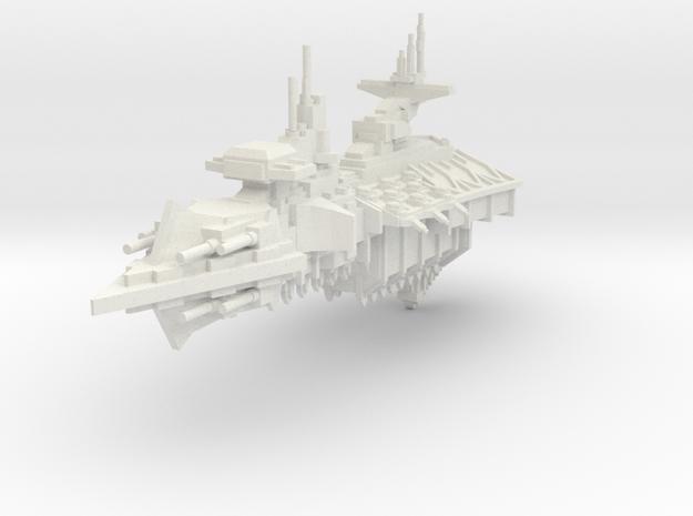 Crucero Ligero clase Fanatico in White Natural Versatile Plastic