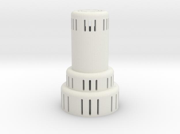 kerosene heater lighted in White Natural Versatile Plastic