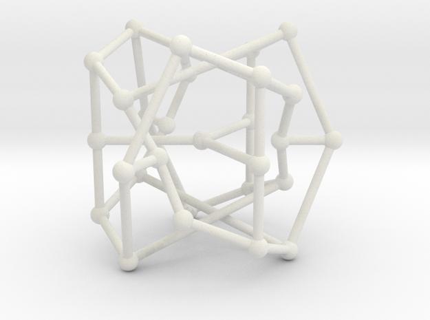 Coxeter graph in White Natural Versatile Plastic
