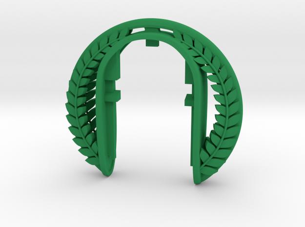 VINTAGE  XL  MINI KEY FOB in Green Processed Versatile Plastic