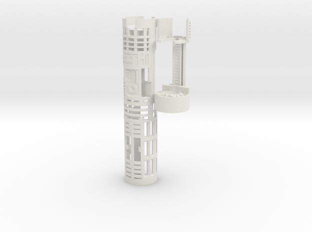 Korbanth / Parks LS6 - Master Var3 Part1 in White Natural Versatile Plastic