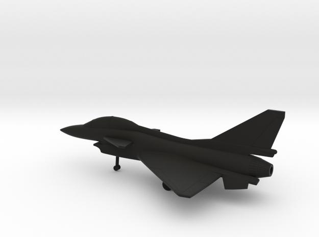 Chengdu J-10B Firebird in Black Natural Versatile Plastic: 1:200