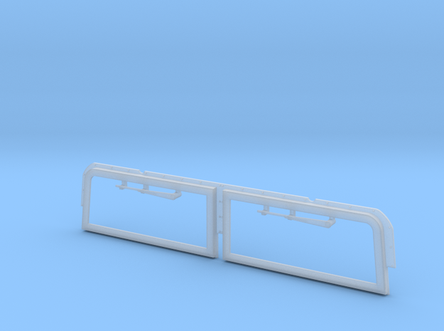 Windshield armour for M1113 Special Forces GMV in Smooth Fine Detail Plastic