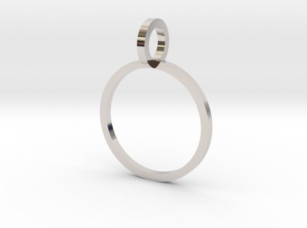 Charm Ring 13.21mm in Platinum