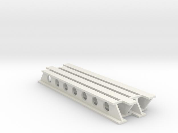 Stahlträger geschweißt V1 - 80mm 4erSet - 1:120 TT