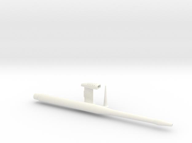 1.4 BAE HAWK SONDES COMBO in White Processed Versatile Plastic