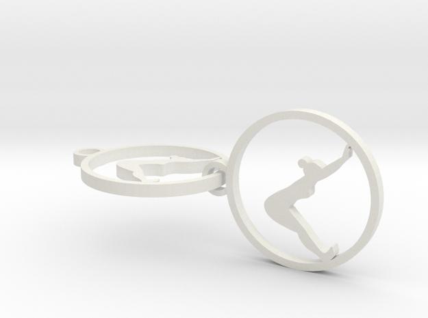 downward facing dog in White Natural Versatile Plastic