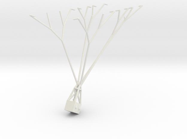"Parseval-Siegsfeld ""Drachen"" Replacement Basket in White Natural Versatile Plastic"