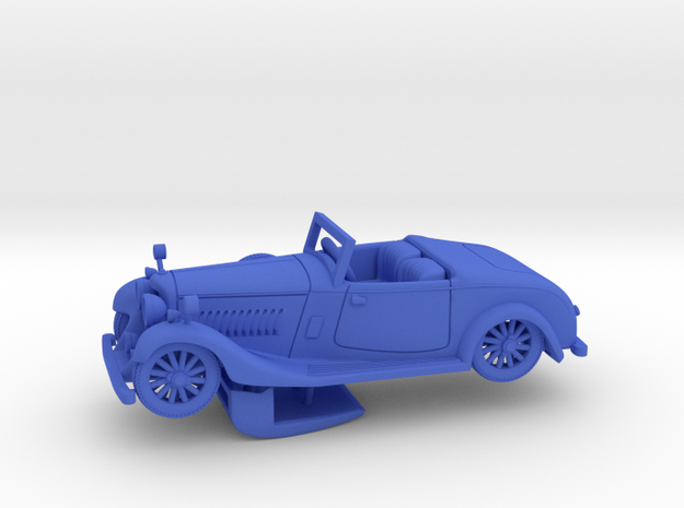 Bentley 1930 4,5L 1:56 in Blue Processed Versatile Plastic