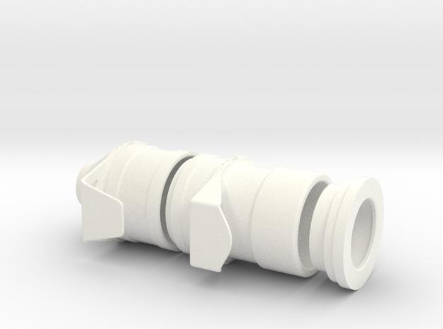 1.6. LAMA ENTREE AIR TURBINE in White Processed Versatile Plastic