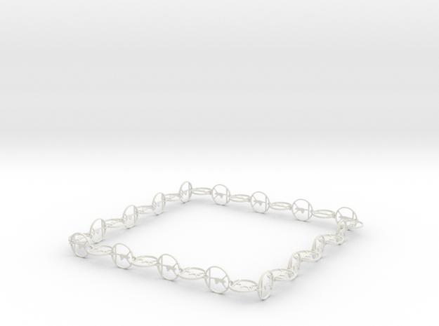 in White Natural Versatile Plastic