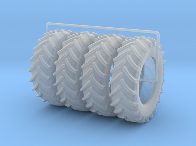 580-85R42 4-Pack in Smooth Fine Detail Plastic