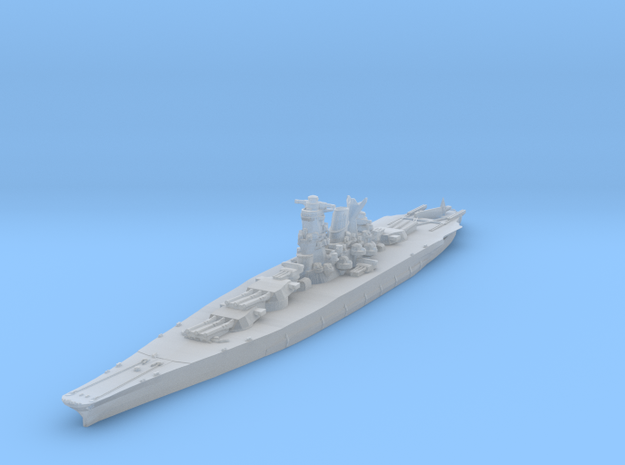 Musashi (1942) 1/4800 in Smooth Fine Detail Plastic