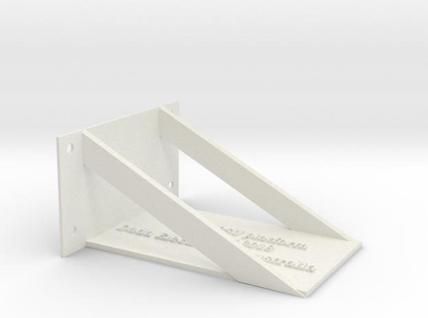 Quad II PSU Platform in White Natural Versatile Plastic
