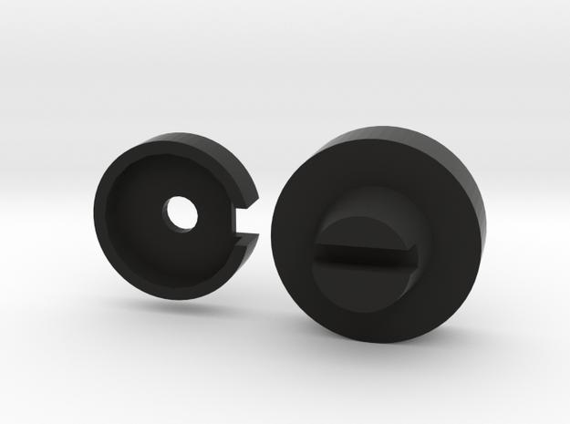 Quad FM3 Mute Control in Black Natural Versatile Plastic
