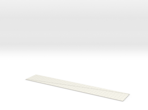 N Terre Armee Slopes 2x 311x47mm in White Natural Versatile Plastic