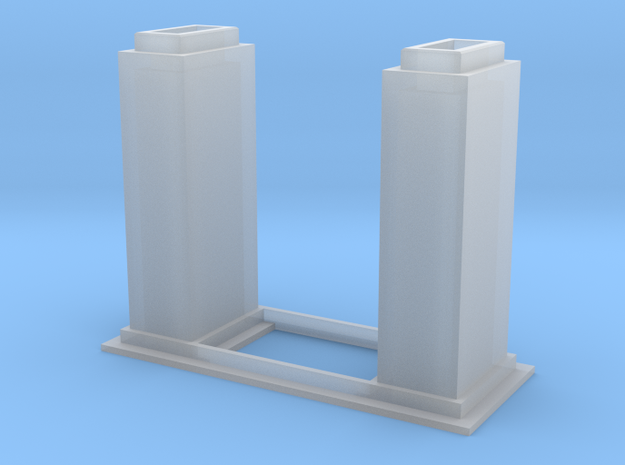 1/64 10k Trunking Short Section in Smooth Fine Detail Plastic