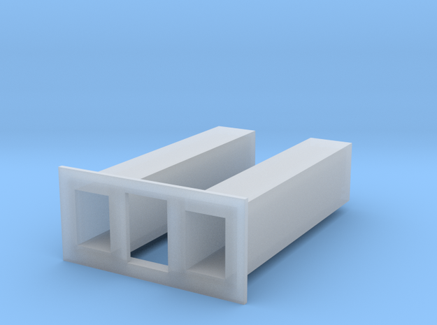 1/64 1500 and 3500 grain leg trunking short sectio in Smooth Fine Detail Plastic