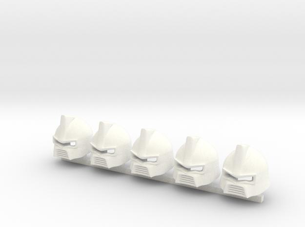 5 x PA Digger brute 0300 in White Processed Versatile Plastic
