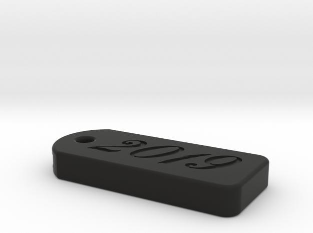 Cherry Keeper - 2019 Key Safe in Black Natural Versatile Plastic