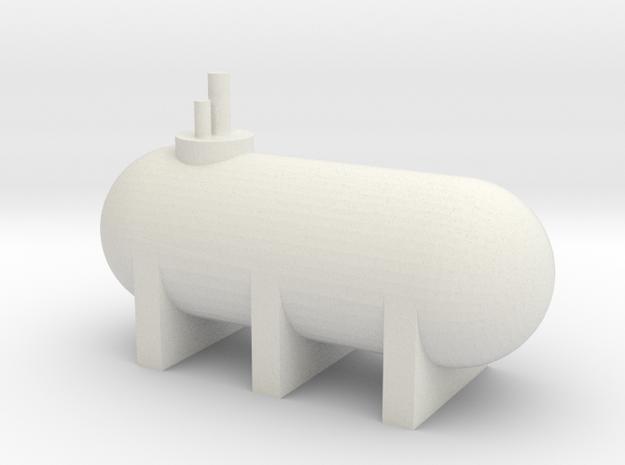 2500 gal Propane Tank in White Natural Versatile Plastic: 1:160 - N