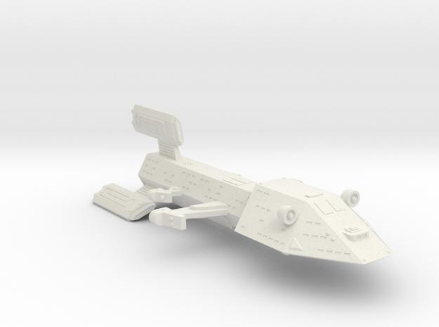 3788 Scale Kzinti Light Dreadnought (DNL) SRZ in White Natural Versatile Plastic