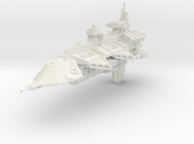 Gran Crucero clase Represalia in White Natural Versatile Plastic