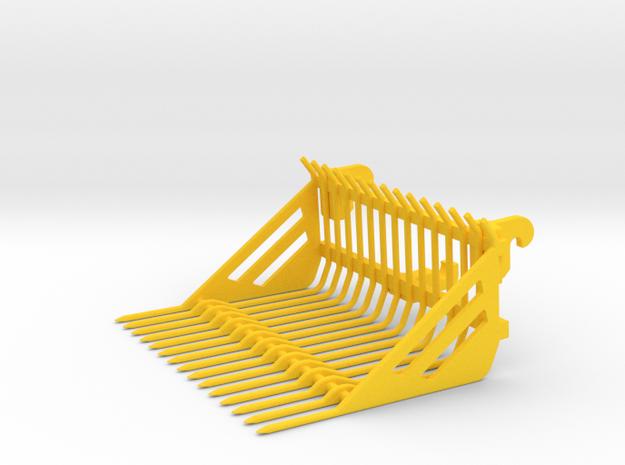 Steingabel  in Yellow Processed Versatile Plastic