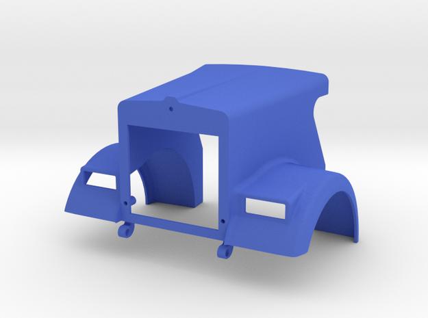 KW W900L style *Sinister Series* Tilt-Hood in Blue Processed Versatile Plastic