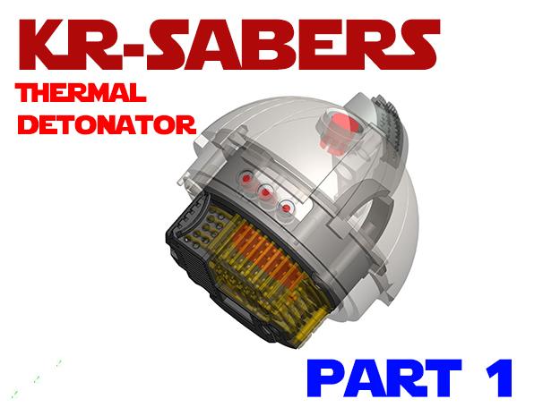 KR-Sabers - Thermal Detonator Chassis Par1