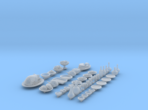 Elite Feast Set for 1/48 scale settings in Smooth Fine Detail Plastic